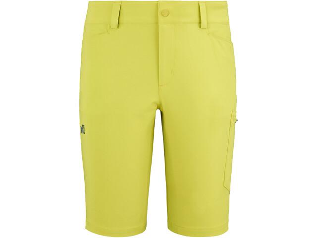 Millet Wanaka Pantalones Cortos Elásticos Hombre, wild lime
